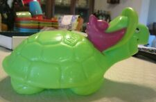 Vintage 1960s Hanna-Barbera Touche Turtle Purex Co. Bubble Bath Container