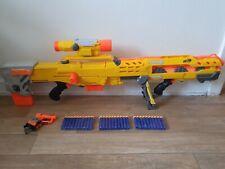 Nerf gun N-Strike bundle longshot sniper rifle jolt pistol + bullets 39.99p