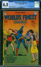 World's Finest Comics 56 CGC 6.5 - White Pages