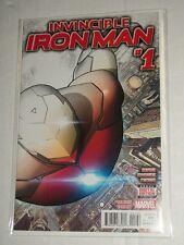 Marvel INVINCIBLE IRON MAN #1 2 Per Store Half Sketch Variant NM