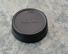 Excellent Genuine Nikon NIKKOR LF-1 Rear Lens Cap F Mount AF-S AF Ai-S (#1482)