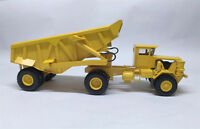 1/50 KW Dart 50 EDT Rear Dump Trailer - Ready Made Resin Model - YELLOW COLOUR