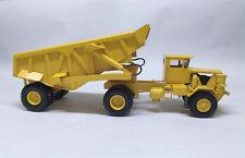 1/50 KW Dart 50 EDT Rear Dump Trailer - Ready Made Resin Model - YELLOW COLOUR