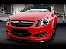 carbon CUP Spoilerlippe Frontspoiler Spoiler Diffusor Ansatz Opel Corsa D OPC