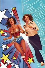WONDER WOMAN 77 MEETS THE BIONIC WOMAN #1 ALEX ROSS VIRGIN COVER F