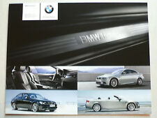 Prospekt BMW M3 Coupe / Limousine / Cabrio (E 92) Individual, 1.2008, 4 Seiten