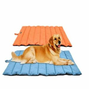 Waterproof Outdoors Pet Dog Mat Portable Reversible Kennel Outside Use Accessory