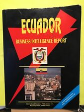 Used ~ Ecuador Business Intelligence Report by International Business Pu 2009 PB
