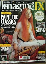 ImagineFX Paint the Classics Photoshop Textures Sept 2014 FREE SHIPPING