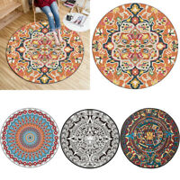 European Mandala Flower  Series Round Carpets for  Room Computer Chair Area Rug