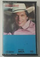 George Straight Cassette Right Or Wrong 1983 MCA Records Tape