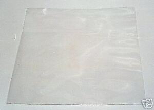 """100 12"""" LP PLASTIC POLYTHENE RECORD SLEEVES / COVERS 250G + FREE DELIVERY"""