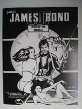 "Original Gottlieb ""James Bond"" Pinball Machine Instruction Manual"