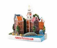 Amsterdam Holland Poly Magnet Stadtansicht Niederlande Souvenir