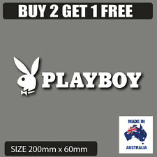 Playboy   bunny car stickers