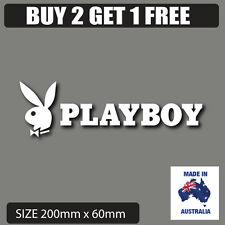 Playboy   bunny car stickers