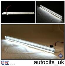 2 X 18 LED 24V INTERIOR LIGHT LAMP 400MM ON/OFF SWITCH TRUCK LORRY MAN DAF IVECO
