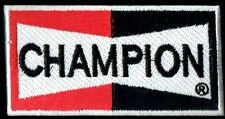 Champion Spark Plugs Patch Badge Muscle Car Hot Rod Drag Race