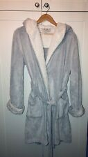 Fat Face Hooded dressing gown In Grey Size Medium. Super Soft