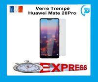 Pr Huawei Mate 20 Pro vitre protection verre trempé film protecteur écran