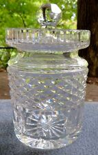 Waterford Crystal Jam Jelly Covered Condiment Jar