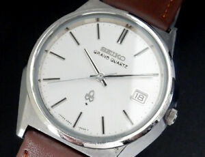 Working Seiko Grand Quartz 1976 Vintage Mens Watch 4842 Japan uhr reloj montre