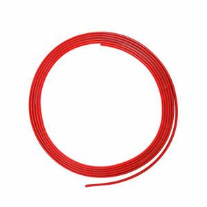 Mini Profilo Trim Adesivo per Auto Rosso, 3 mm x 3 mt