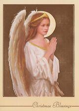 Praying Angel Christmas Holiday Greeting Cards