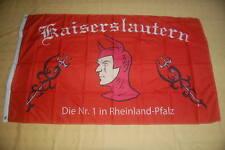 Kaiserslautern Teufel Die Nr. 1 in Rheinland Pfalz Fan Fahne 150 x 90 cm