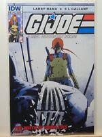 GI JOE #214 Sub Cover Variant Death of Snake Eyes IDW Comics CB7155