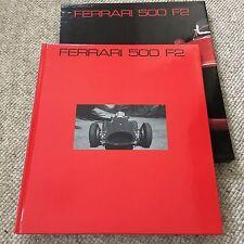 FERRARI 500 F2 Cavalleria Rancati Carrieri Hardcover Collector Book #3 1994