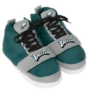 """""""AS IS"""" Officially Licensed NFL Puffy High-Top Sneaker Slippers"""