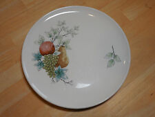 Syracuse Carefree China WAYSIDE Set of 4 Dinner Plates 10 in Fruit design