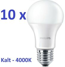 10x PHILIPS LED Lampe CorePro Led E27 Glühbirne 12.5W=100W KALTWEISS 4000K Birne