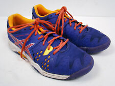 ASICS Girls Womens Gel-solution 6 Tennis Shoes Sneakers Purple Orange Size 5 US