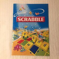 Junior Scrabble Manual 1999
