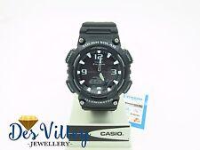 NewCasio AQS810W-1A Tough Solar Analog Digital Sports Watch 5 ALARMS S810