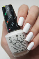 OPI PUT A COAT ON ~ White Base Coat for Neon Bright Vibrant Nail Polish N01 New!
