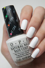OPI ~PUT A COAT ON~ Natural Nail Base WHITE Coat for Neon Bright Nail Polish N01