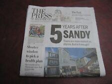 """Hurricane Sandy 5 Years After"" Atlantic City Press October 29, 2017"