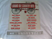 (1) Grand Ole Country Hits Vinyl LP - Various Artists - CAL 737 - Chet Atkins
