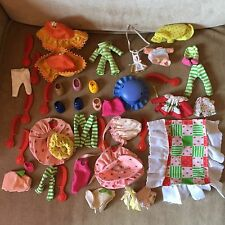 Vintage Strawberry Shortcake Accessory Lot Hats Comb Brush Shoes Clothes