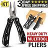 Multi tool Knife Multipurpose Outdoor Camping Folding Pocket Pliers Multitool