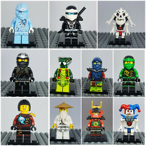 Lego Ninjago Figur Figuren zur Auswahl --- Zane Cole Warrior Nya Lloyd Droid Wu