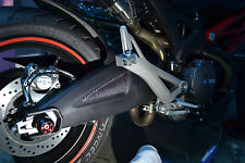 Fit Ducati Monster 696 real carbon fiber rear suspension kit protector sticker