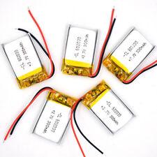 5 pcs 3.7V 300 mAh Li-polymer Lithium Li-ion Rechargeable  602030 for mp3 mp4