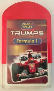CHAD VALLEY TRUMPS,FORMULA 1