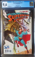 Superman Unchained (2013 DC) #5 Manpul 1930s Variant CGC 9.6 1:100