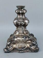 Antiker Silber Leuchter - Kerzenleuchter Kandelaber - Silberfuß