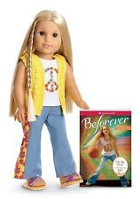 "NIB American Girl Beforever Julie 18"" + Book"